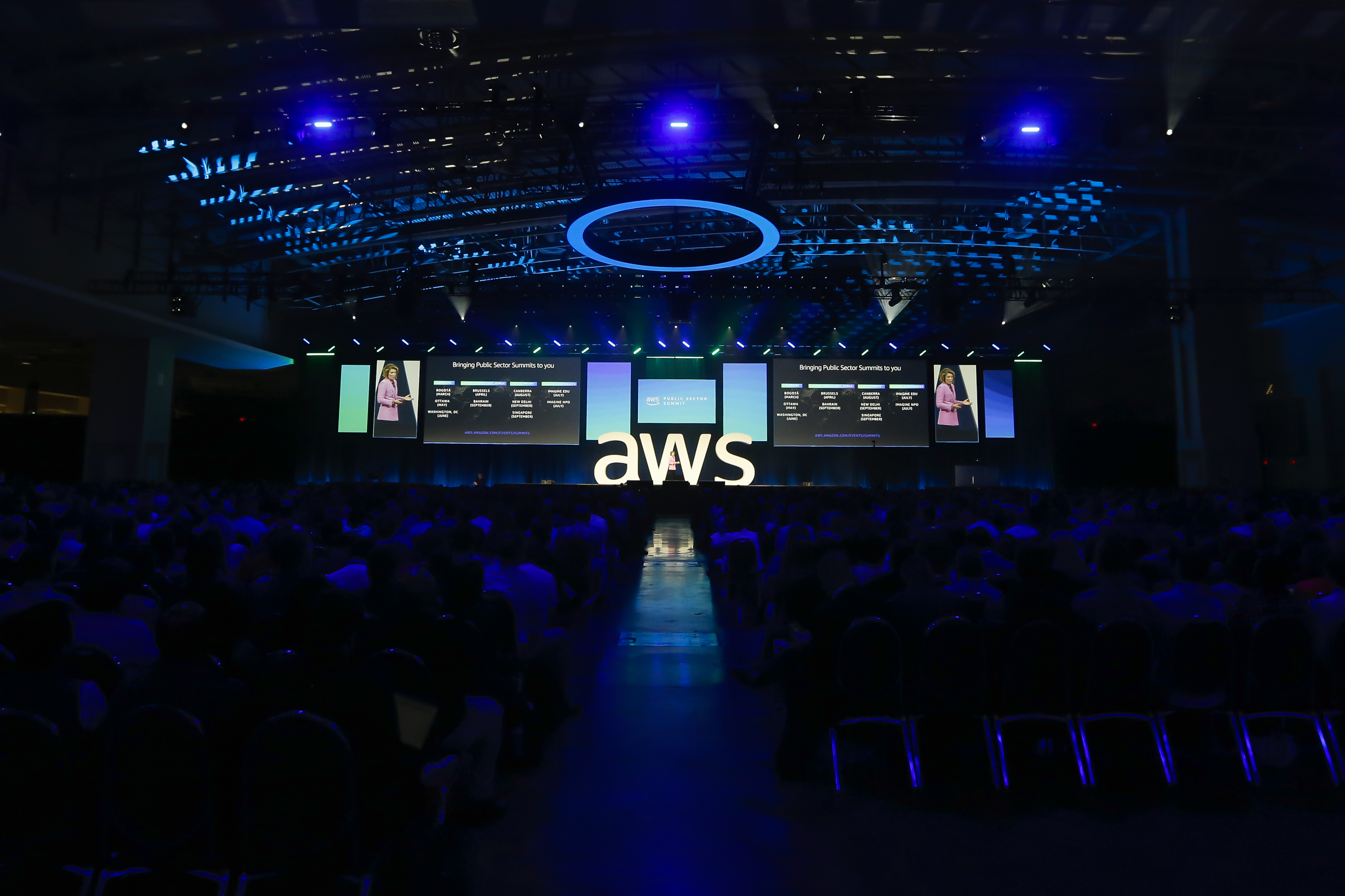 15 Highlights from the 2019 AWS Public Sector Summit Keynote   AWS
