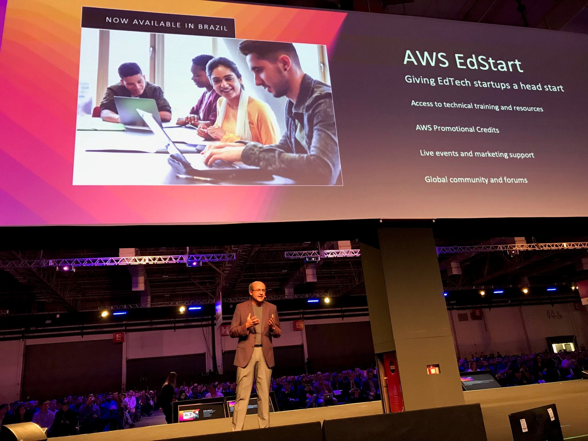 AWS EdStart Goes to South America to Bring Resources to